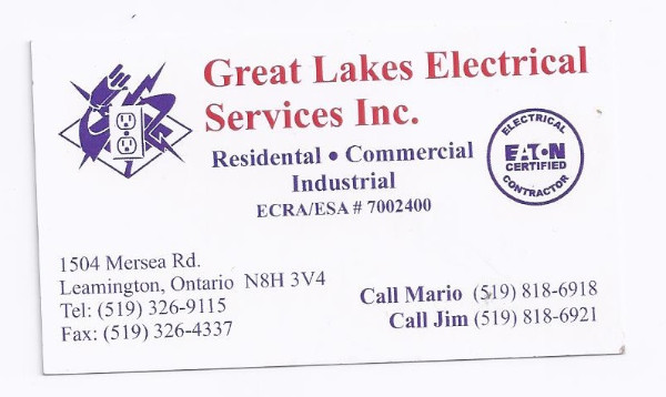 Great Lakes Electrical Services INC.