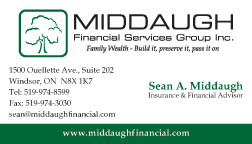 MIDDAUGH FINANCIAL SERVICES GROUP INC