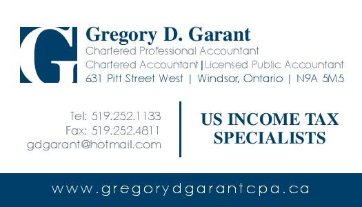 Gregory D. Garant, CPA
